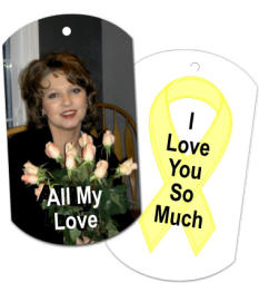personalized photo dog tag